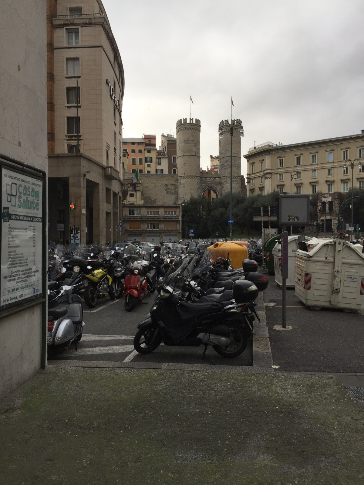 Monaco to Genoa,Italy