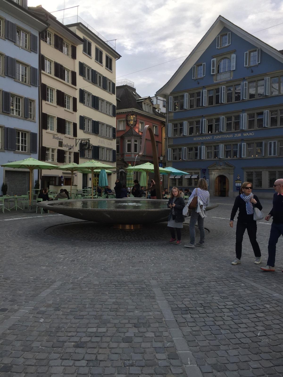 Lichtenstein to Zurich Switzerland