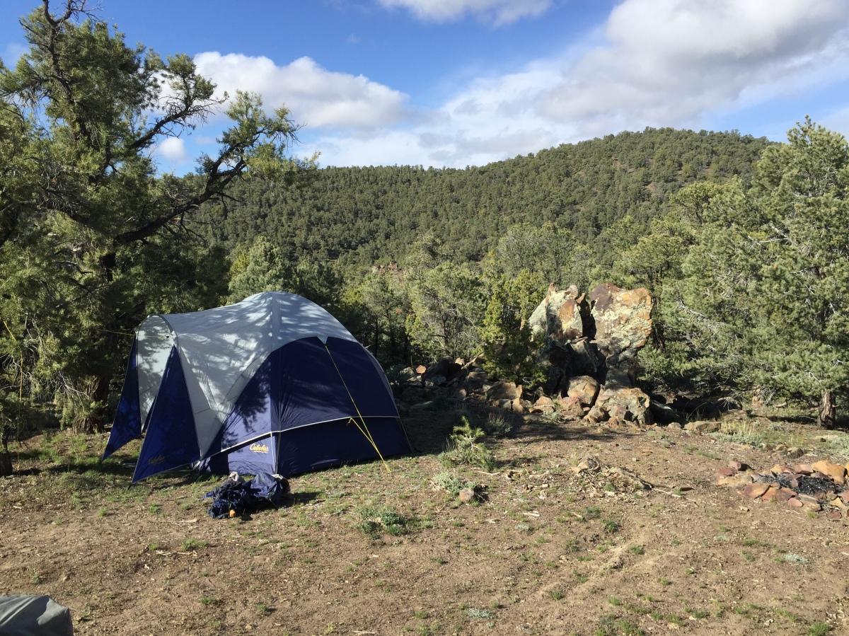 Camping and Nevada Back Road exploring – Taquima Cave and DianasPunchbowl