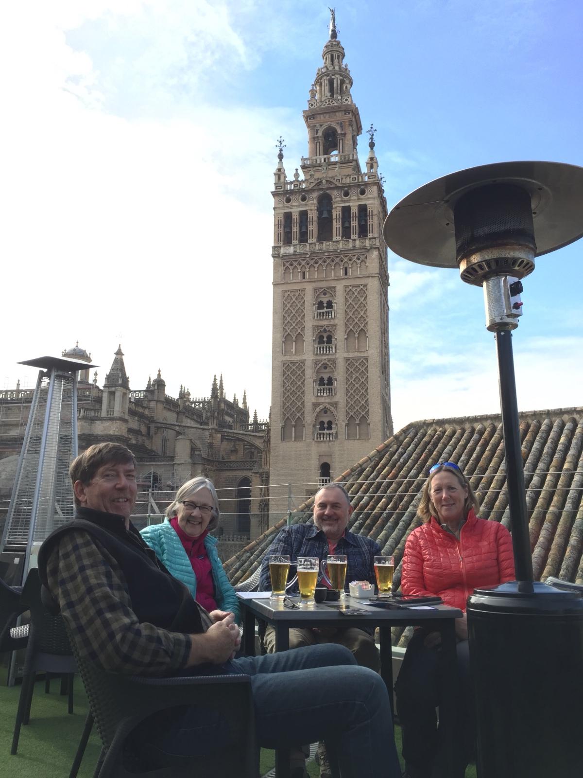 Madrid to Sevilla