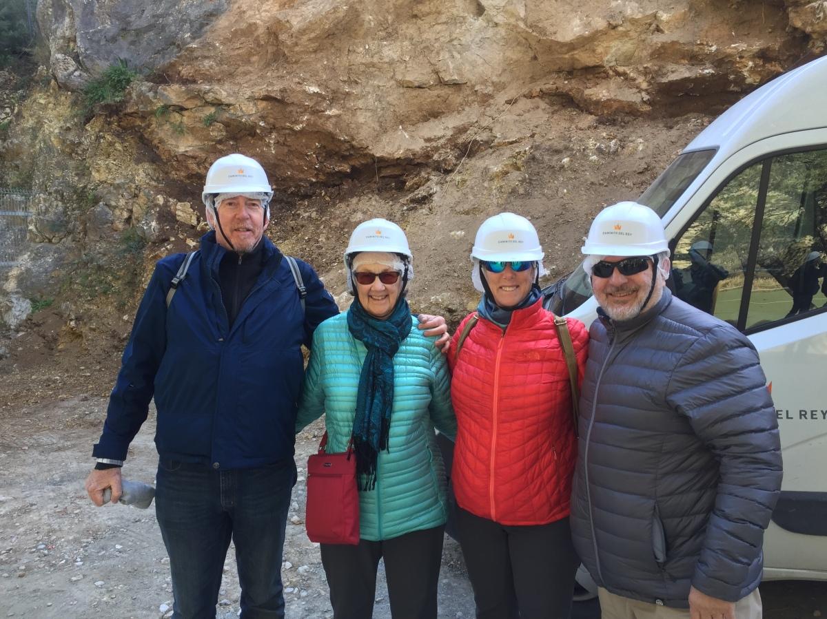 Ronda to Malaga with a stop to hike the Caminito delRey