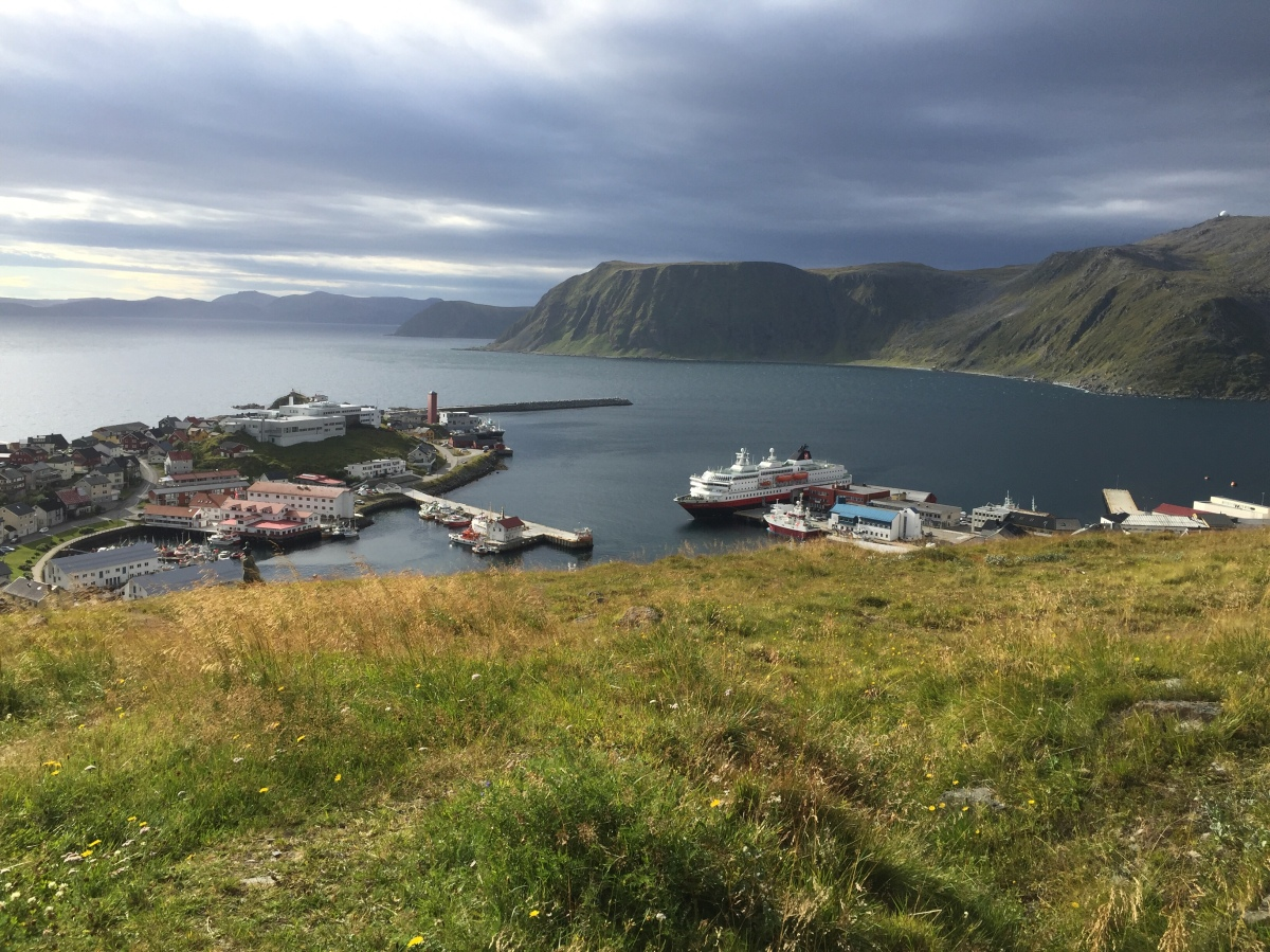 Day 6 Aboard the Hurtigruten, Richard With – Today we were at the Highest Latitude in Continental Europe and got off the ship  in FinnmarkCounty.