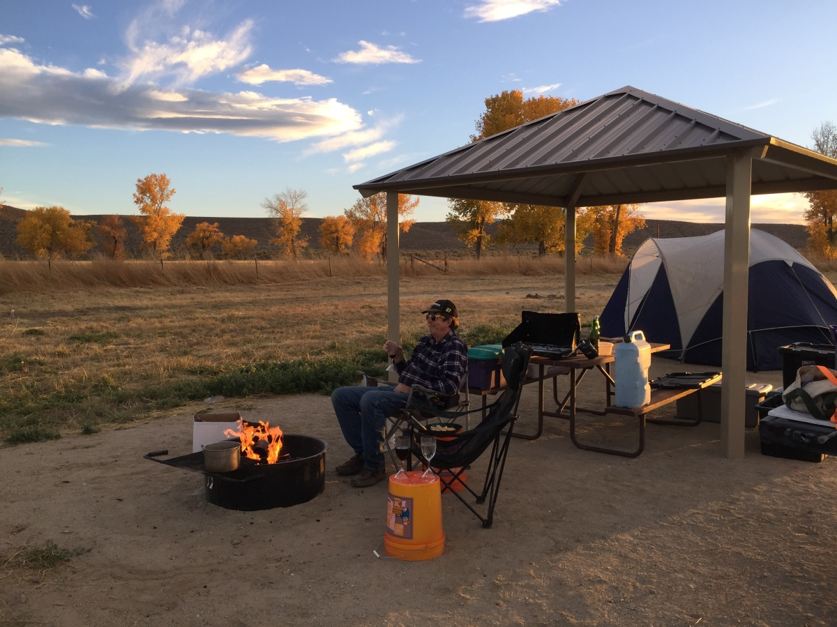 Camping in Nevada's New State Park – Walker River State Recreation Area