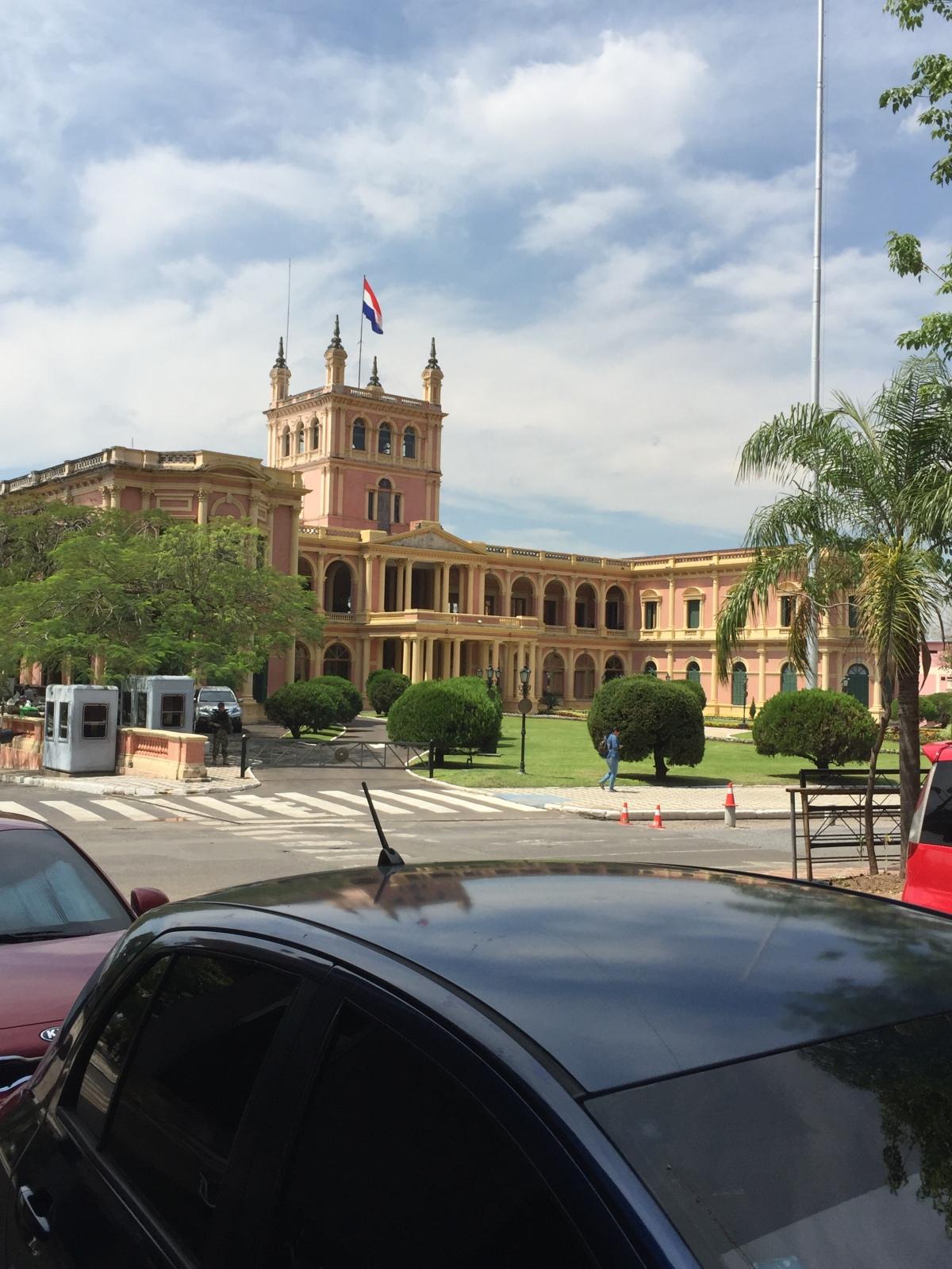 San Francisco to Asunción,Paraguay