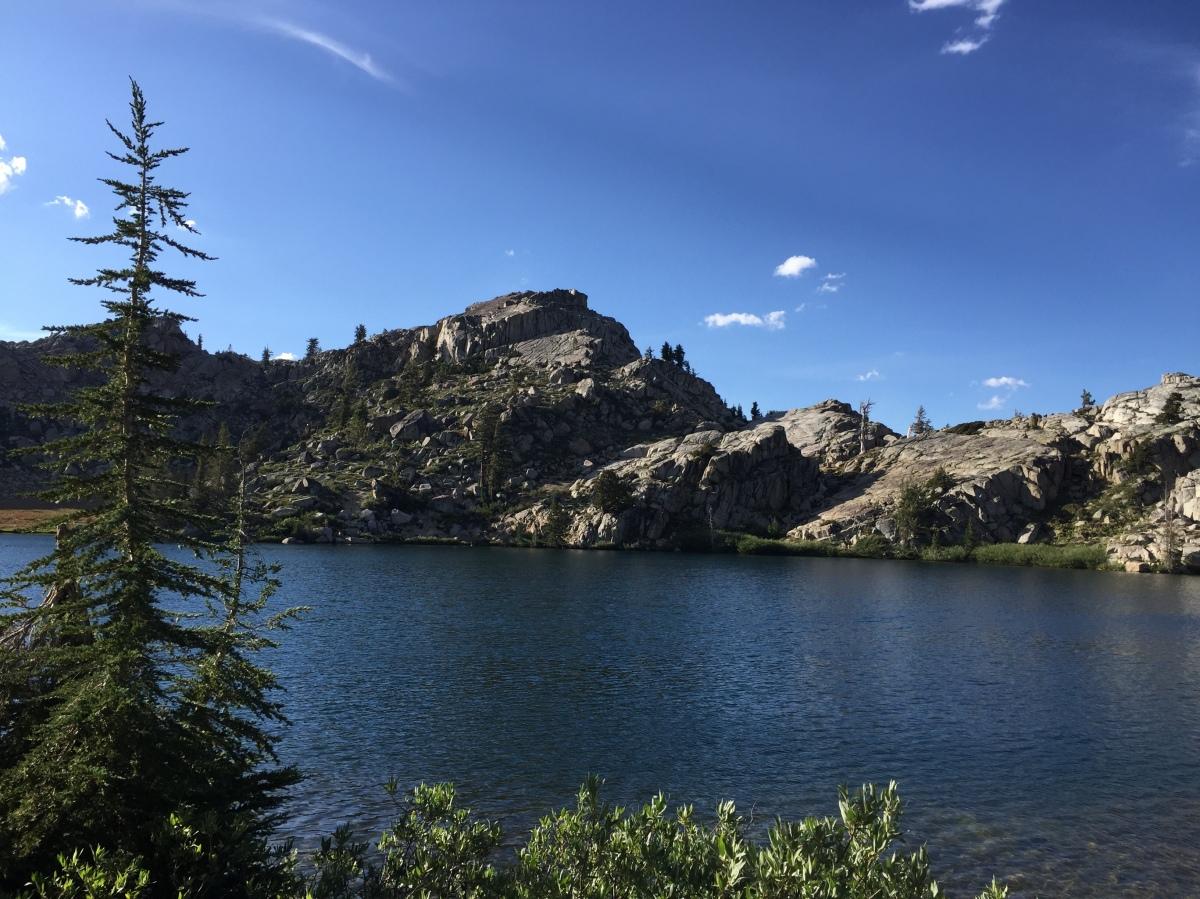 California Sierras Camping – Lower Blue Lake and Highland Lakes – Hiking to GraniteLake
